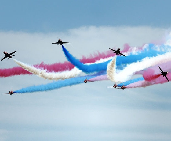 Anglicko: Air Show Bournemouth