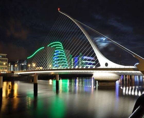 angol nyelvtanfolyam Dublin, Samuel Beckett Bridge