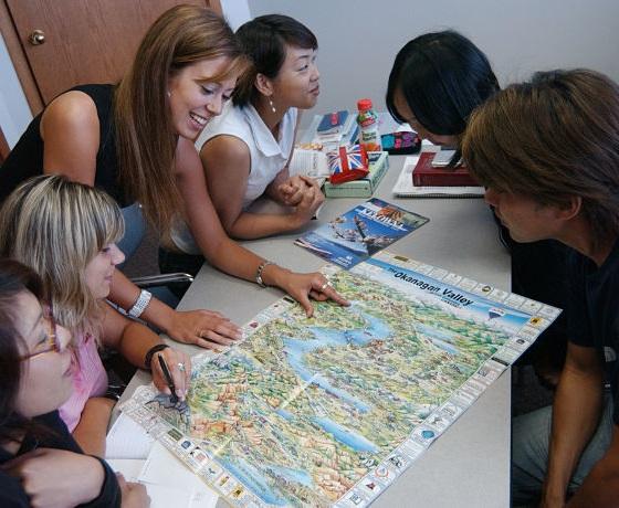 Angol nyelvtanfolyam Kanadában, Kelowna, International Gateway
