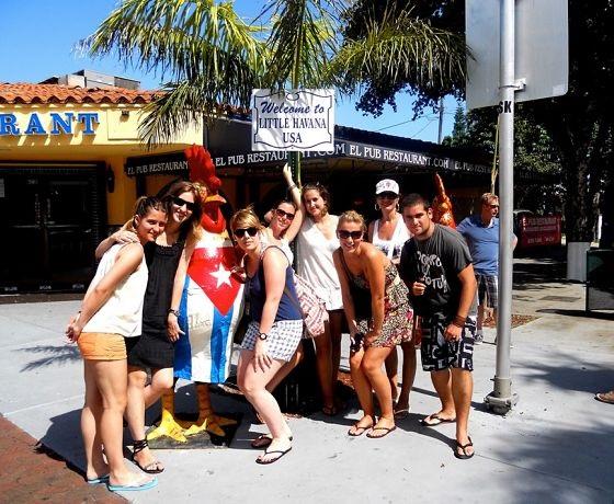 relax po lekciach angličtiny, Miami, USA