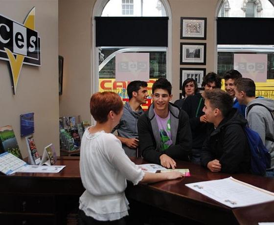 iskola recepció CES Dublin