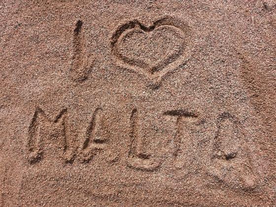 maltský piesok