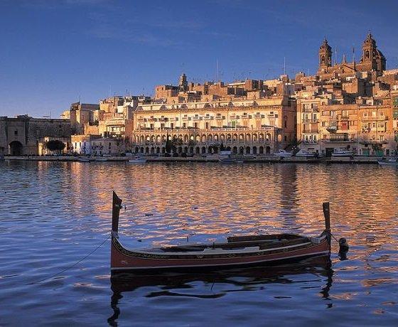 kikötő Málta