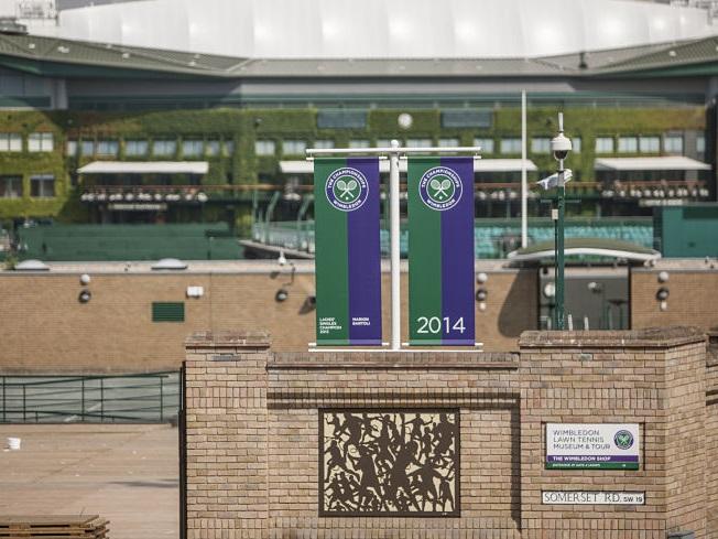návšteva Wimbledonu počas jazykového pobytu v Londýne